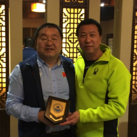 陆博,中国国家游泳中心国际司。 Lu bo, Chinese national swimming center international department.