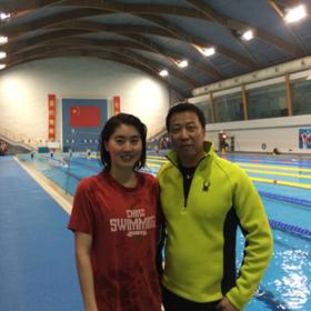 焦刘洋:2012年伦敦奥运会女子200米蝶泳,破世界记录夺奥运首金。 Jiao liu Yang, women's 200 meter butterfly gold medal and break world record in London Olympic 2012.